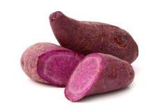Sweet potato. Es on the white background Stock Photo