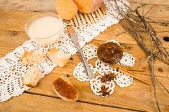 Sweet potato preserve Stock Images