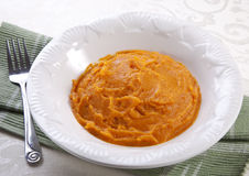 Sweet Potato Puree Royalty Free Stock Images