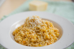 Sweet potato risotto Royalty Free Stock Photo