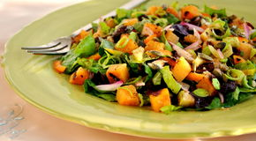 Sweet potato salad Royalty Free Stock Image