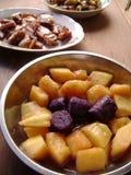 Sweet Potato salad dessert Stock Image