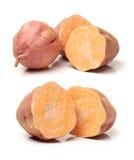 Sweet potato slice Stock Photos