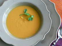 Sweet Potato Soup Royalty Free Stock Image