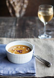 Sweet Potato Soup Royalty Free Stock Photography