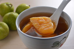 Sweet potato soup Stock Photos
