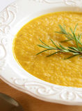 Sweet potato soup Royalty Free Stock Photography