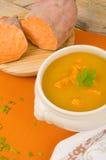 Sweet potato soup Royalty Free Stock Photos