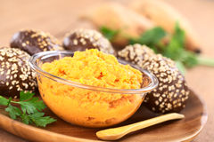 Sweet Potato Spread Stock Photo