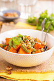 Sweet potato stew with green beans Stock Image