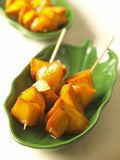 Sweet potato in syrup Royalty Free Stock Photography
