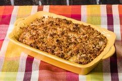 Sweet potatoe casserole Stock Photo