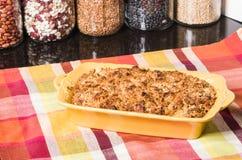 Sweet potatoe casserole Royalty Free Stock Photography
