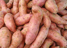 Sweet Potatoes Royalty Free Stock Image