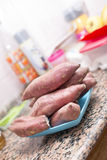 Sweet potatoes Royalty Free Stock Photography