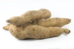 Sweet potatoes isolated Royalty Free Stock Image