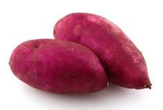 Sweet potatoes stock photos