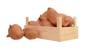 Sweet potatoes Royalty Free Stock Photo