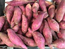 Sweet potatoes Stock Photography