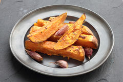 Sweet potatoes. Royalty Free Stock Image
