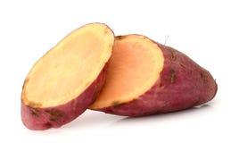 Sweet potatoes. Sweet potato on the white background Royalty Free Stock Images