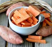 Sweet potatoes. Stock Image