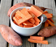 Sweet potatoes. Stock Photography