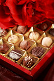 Sweet pralines Stock Images