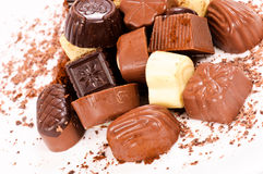 Sweet pralines Royalty Free Stock Photography