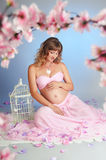 Sweet pregnancy Royalty Free Stock Photography