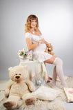 Sweet pregnancy Royalty Free Stock Photos