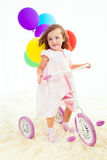 Sweet preschool girl Stock Image