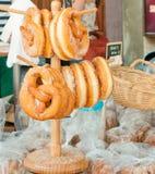 Sweet  pretzels Stock Image