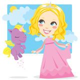 Sweet Princess Royalty Free Stock Images