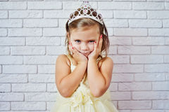 Sweet princess girl Royalty Free Stock Photo