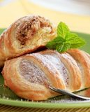 Sweet puff pastry Royalty Free Stock Photo