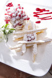 Sweet Puff Pastry Stock Image