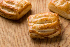 Sweet puff pastry Stock Photo