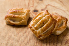 Sweet puff pastry Stock Photography