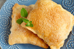 Sweet puff pastry Stock Images