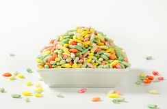 Sweet puffed rice Royalty Free Stock Photography