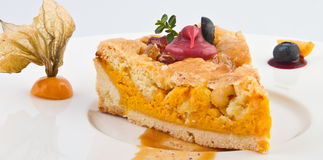 Sweet  pumpkin cakes. Sweet cakes  With very tasty pumpkin Royalty Free Stock Photography