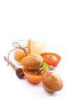 Sweet pumpkin muffins Stock Image