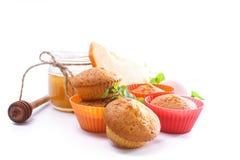 Sweet pumpkin muffins Royalty Free Stock Image