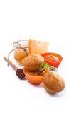 Sweet pumpkin muffins Royalty Free Stock Photo