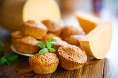 Sweet pumpkin muffins Stock Photo