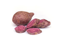 Sweet purple potato. Stock Images