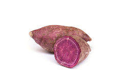 Sweet purple potato . Royalty Free Stock Photos