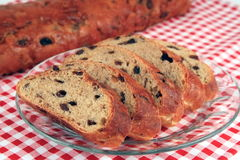 Sweet Raisin Bread royalty free stock images