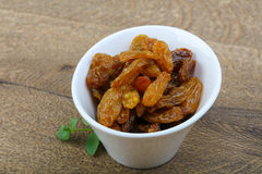Sweet raisins Stock Photos